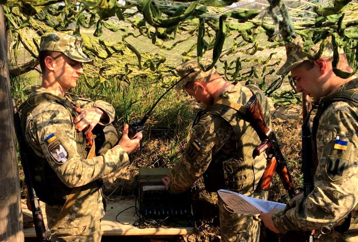 Майбутні офіцери-зв'язківці завершили практичний курс посиленої підготовки