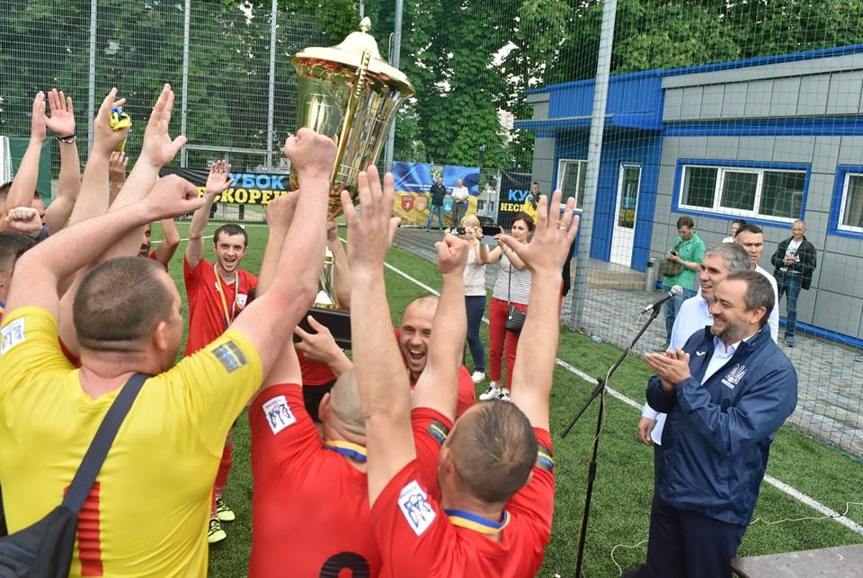 Переможцями Всеукраїнського турніру з міні-футболу «Кубок Нескорених-2019» стали волиняни