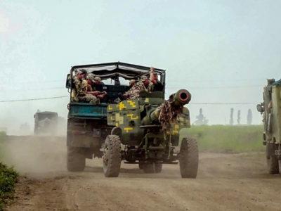 Відбулися бригадні тактичні навчання з бойовою стрільбою за участю Головнокомандувача Збройних Сил України