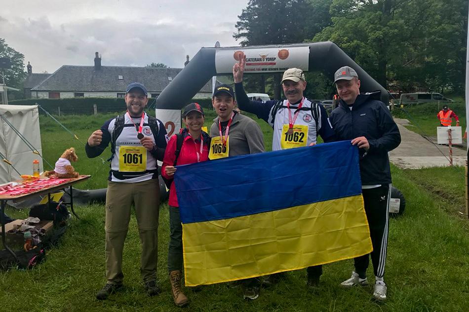 Українські ветерани здобули чотири «золота» на змаганнях у Шотландії