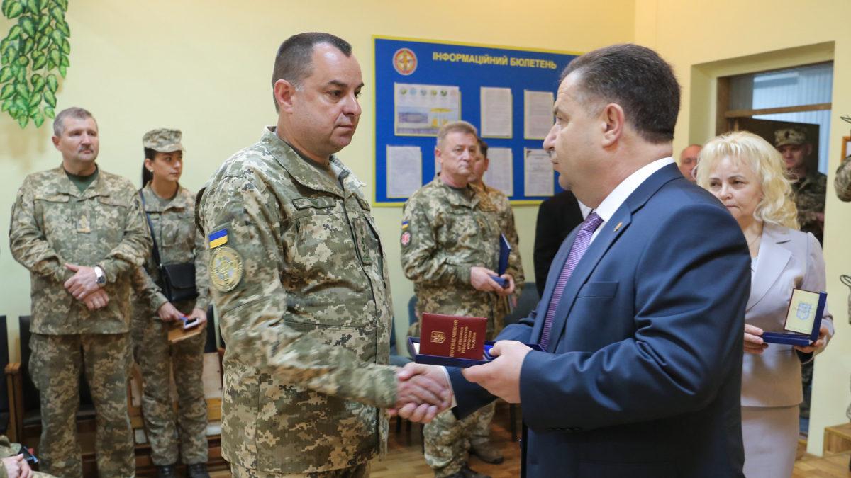 Міністр оборони України нагородив військовослужбовців та працівників Мукачівського військового госпіталю
