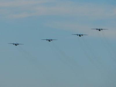 Вперше за чверть століття льотчики-транспортники літали у складі загону