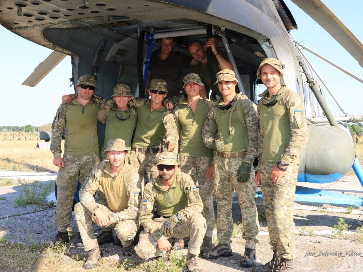 «Важка» рота морської піхоти відпрацювала безпарашутне десантування на Міжнародних навчаннях «Сі Бриз-2019»