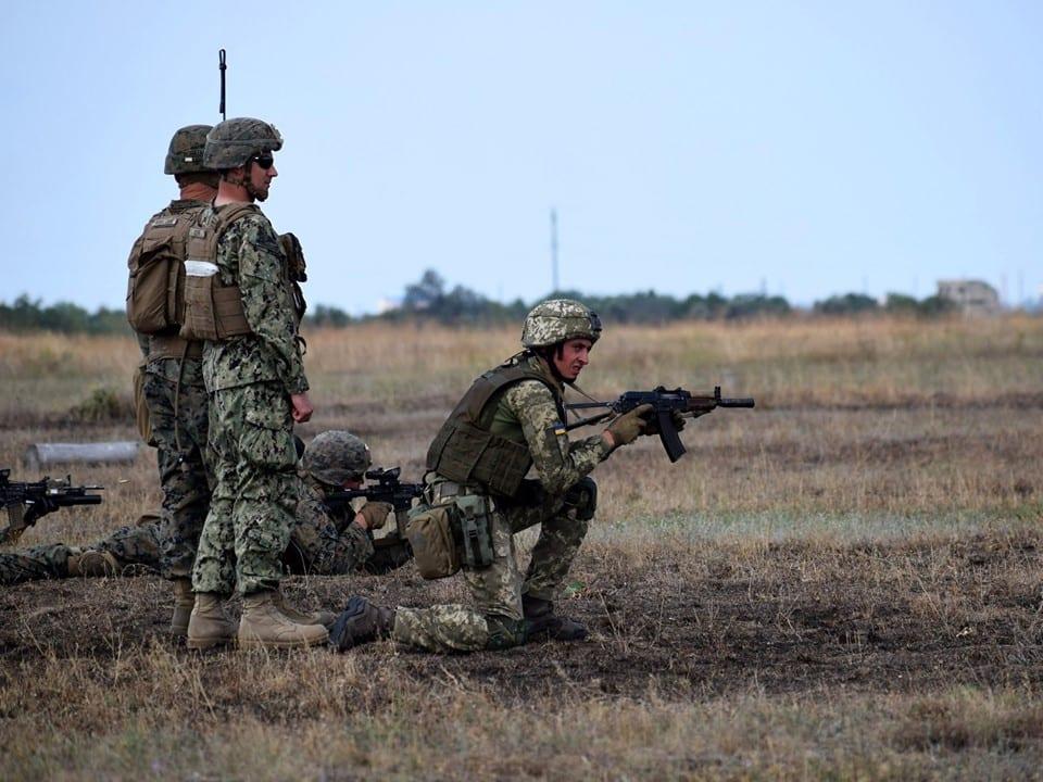 На навчаннях «Сі Бриз-2019» багатонаціональні підрозділи морської піхоти продовжують удосконалювати прийоми взаємодії на полі бою