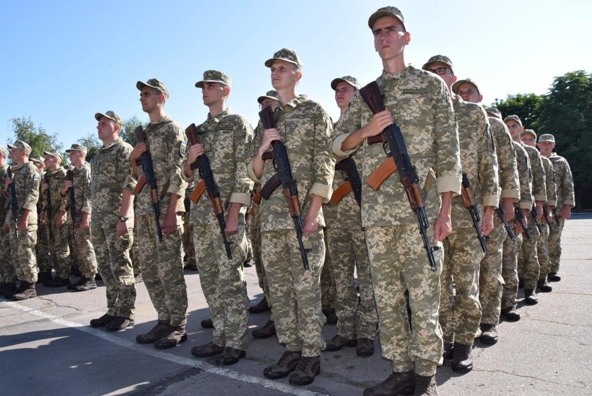 Строковики-зв'язківців присягнули служити Українському народові