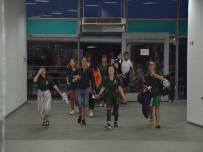 Діти учасників АТО повернулися із навчання в Литві