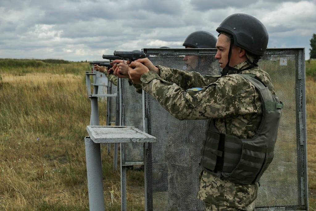 На Рівненщині тривають польові збори курсантів кафедри військової підготовки