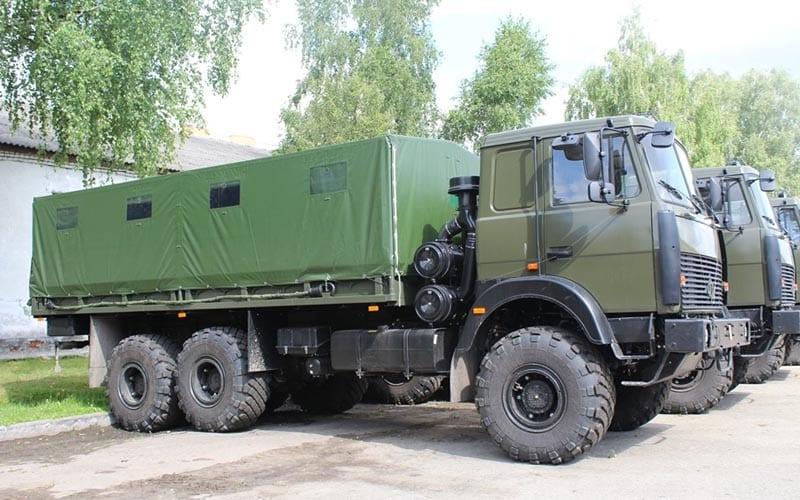 20 нових вантажівок поповнили автопарк десантників