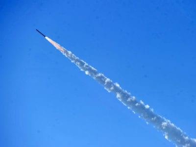В Україні випробували ракети реактивної системи залпового вогню «Вільха»
