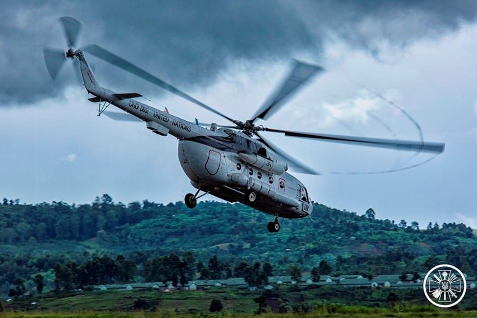 Військові пілоти в Конго вдосконалили свої навички пілотування вночі