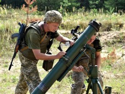 «Боги війни» в дії: стартував конкурс артилеристів
