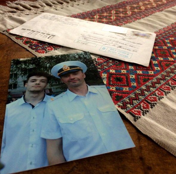 Мати військовополоненого моряка Андрія Оприска пише листи сину в Лефортово лише українською мовою
