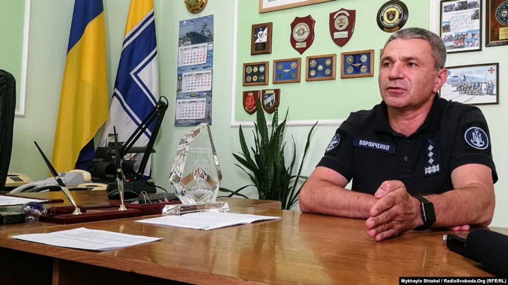 Найголовніше у розв'язанні конфлікту на сході — це виведення російських військ, — адмірал Воронченко