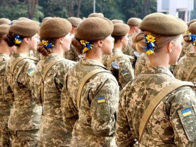 Жінок у війську стало більше і на керівних посадах зокрема