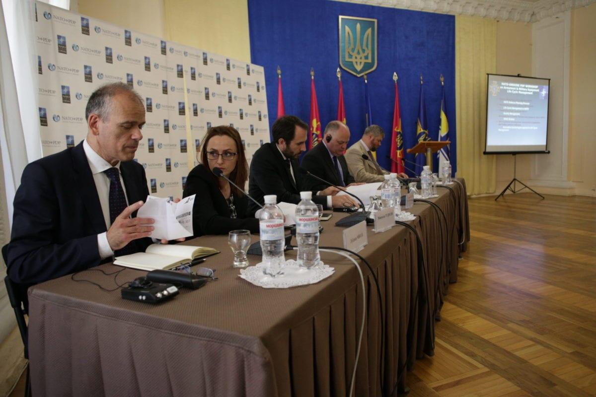 Секретарем групи з управління життєвим циклом озброєння та військової техніки НАТО став представник України