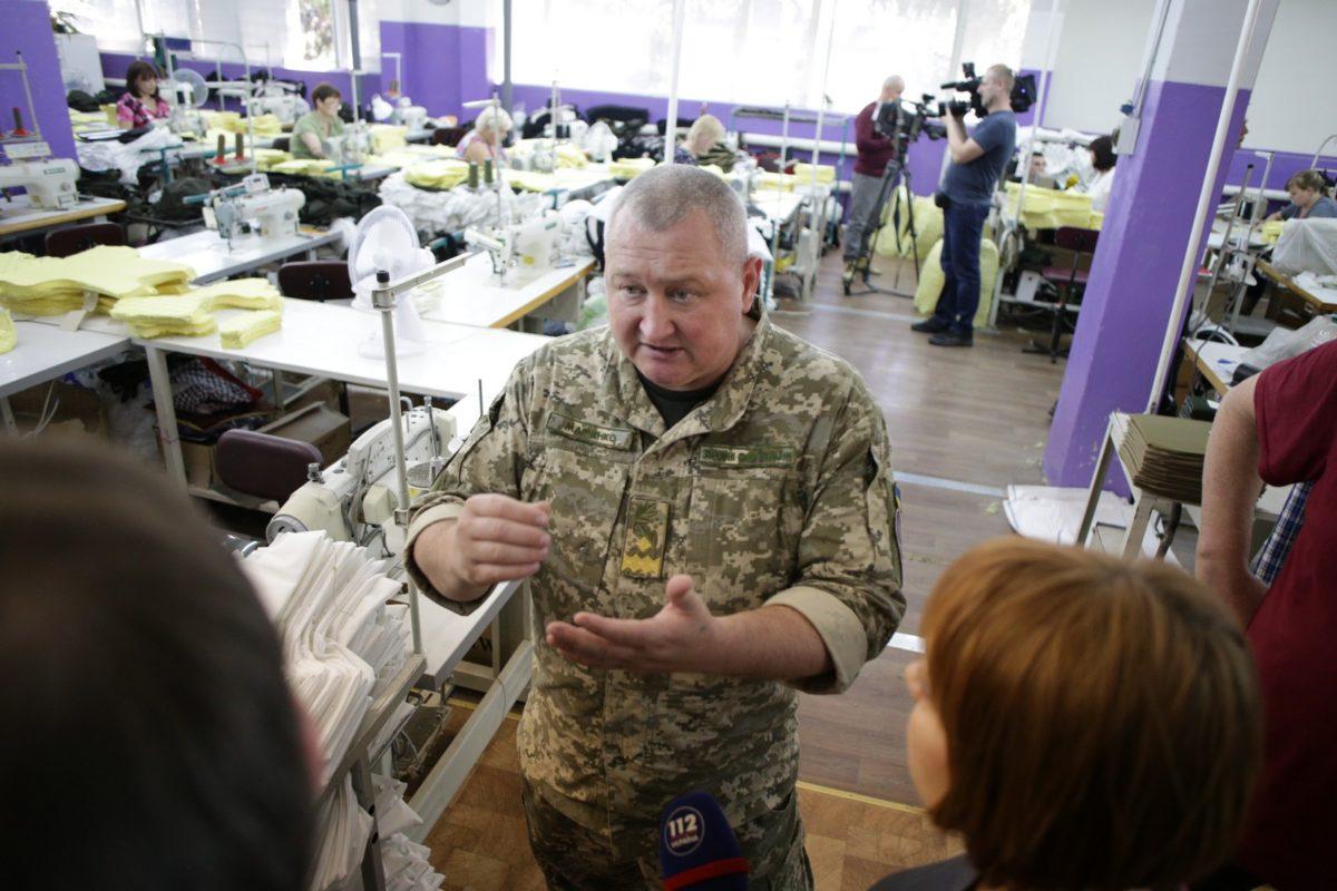 Сьогодні на ТОВ «Богуславський текстиль» відбулася перевірка виробництва бронежилета «Корсар М3»