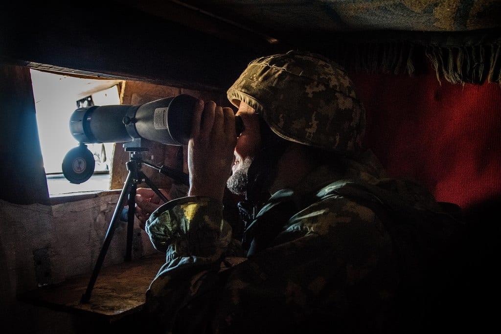 Морські піхотинці тримають оборону на лінії зіткнення