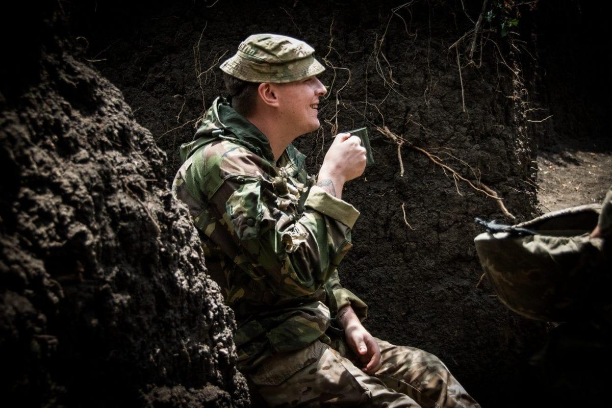 Британець «Рідлі» обороняє українську землю на одній із найнебезпечніших ділянок лінії зіткнення