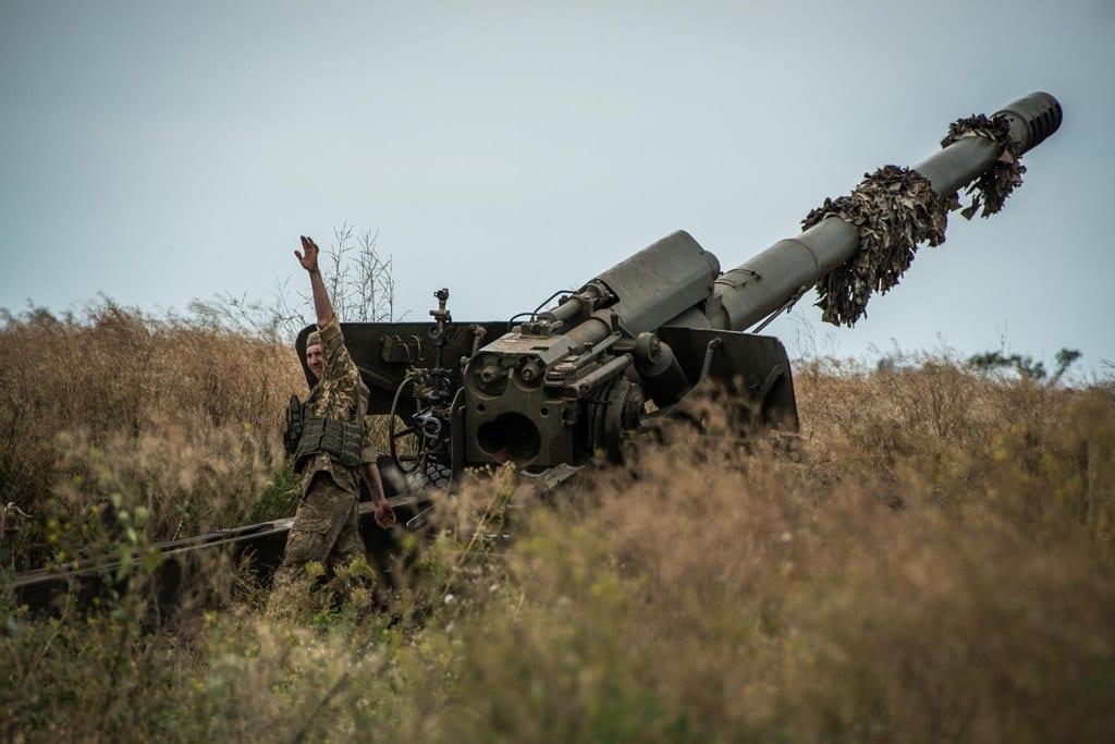 Артилеристи Об'єднаних сил знищили морський десант противника
