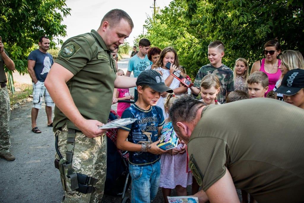 Делегація експертів НАТО зі страткому відвідала район проведення операції Об'єднаних сил