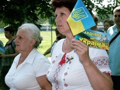 П'яту річницю звільнення від окупантів Авдіївка відзначила урочистою ходою й мітингом