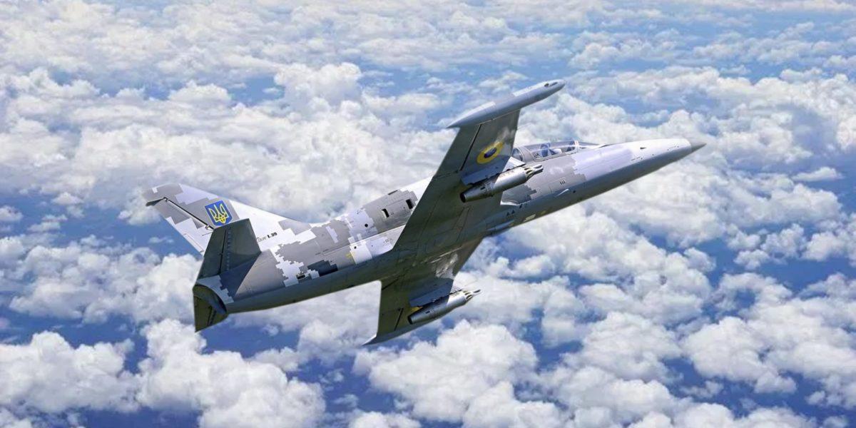 На Харківщині впав літак Л-39