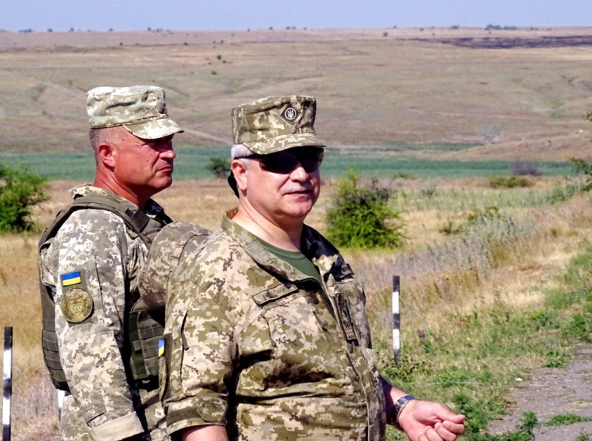 На миколаївщині завершився навчальний збір з командирами