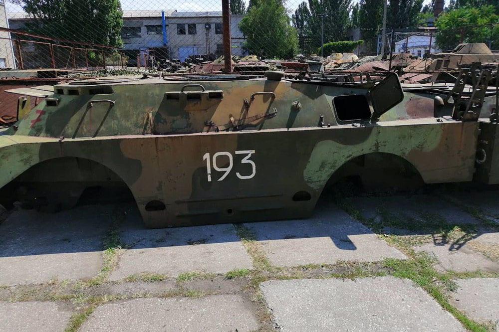 За п'ять років «Миколаївський бронетанковий завод» передав українському війську понад 400 відновлених бойових машин