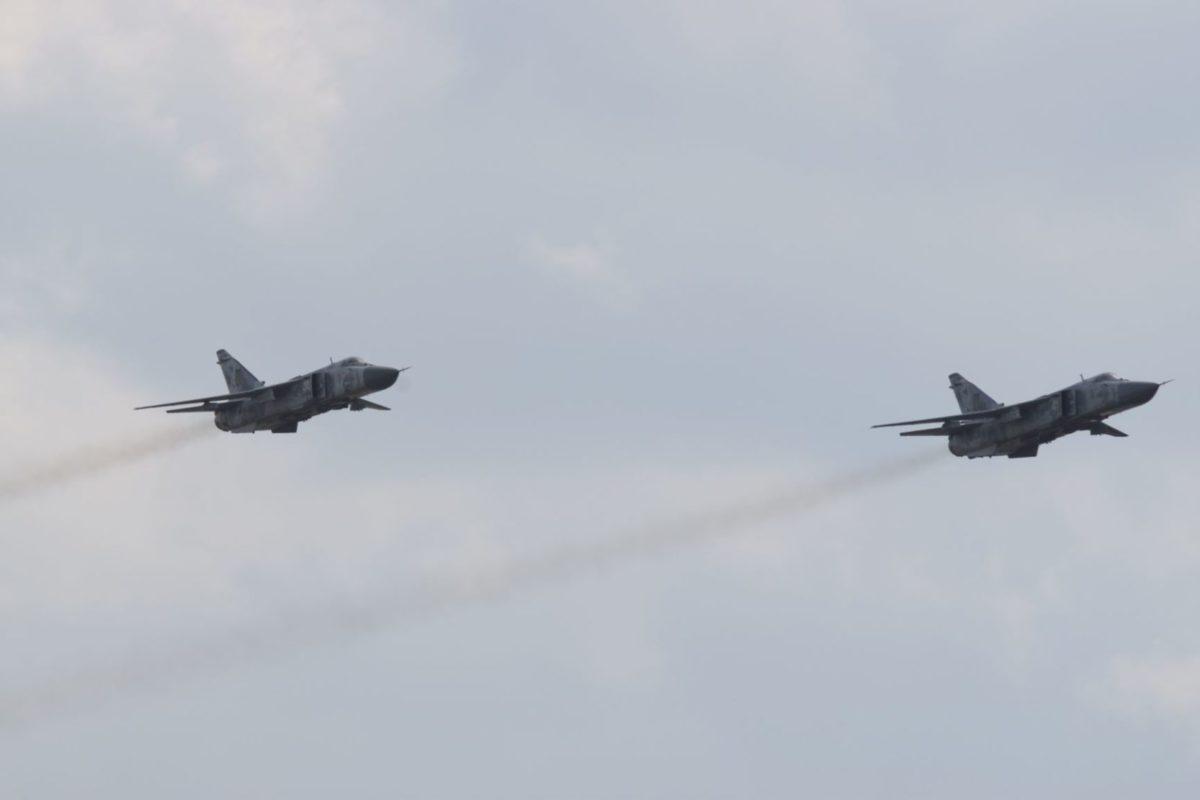 Бомбардувальники працювали у  складних метеоумовах