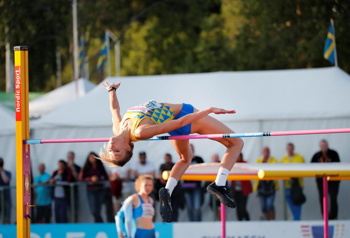 Юлія Левченко — чемпіонка Європи з легкої атлетики