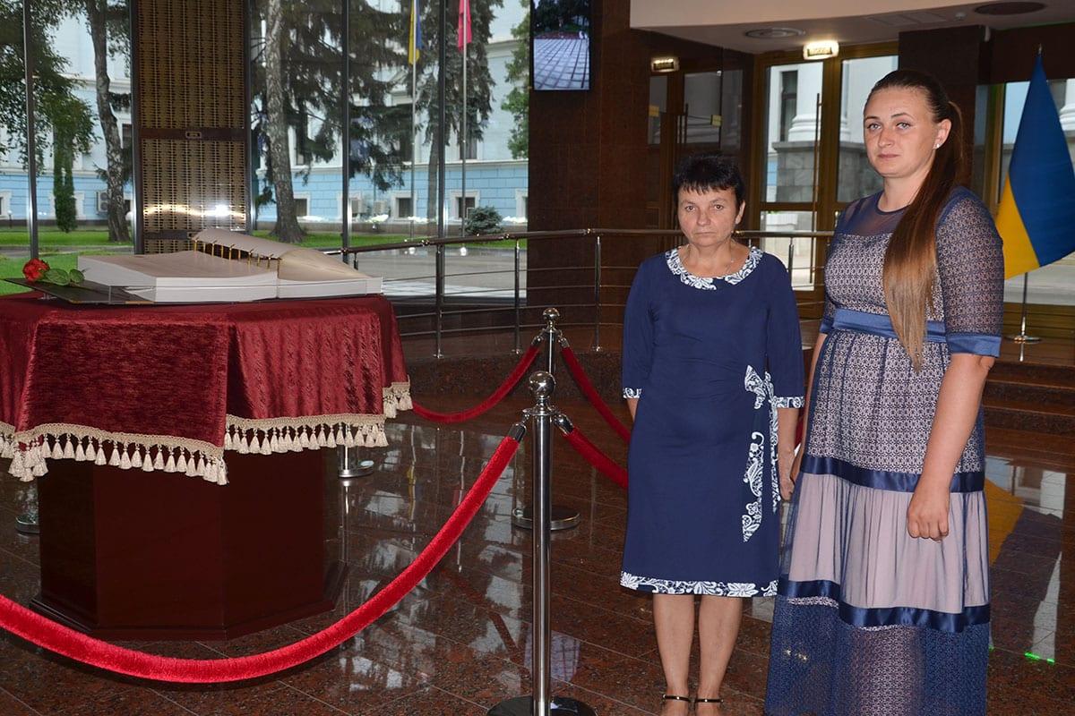 Мати Сергія Кушніра та вдова Юлія