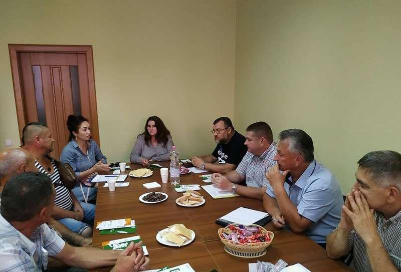 «Кава з юристами» для учасників бойових дій і переселенців