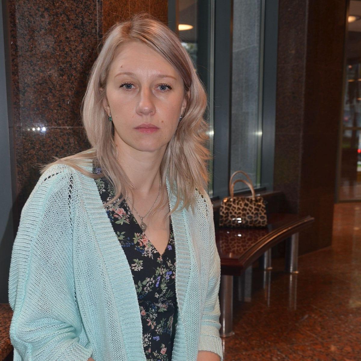 Ірина Курочка - вдова загиблого