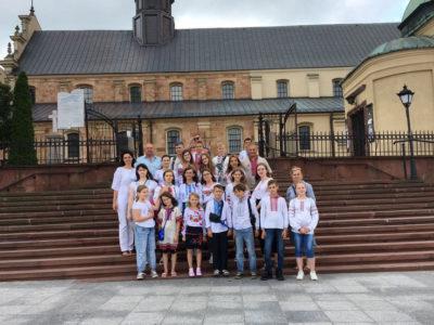 Діти загиблих і поранених на сході України вінничан відпочили в Польщі