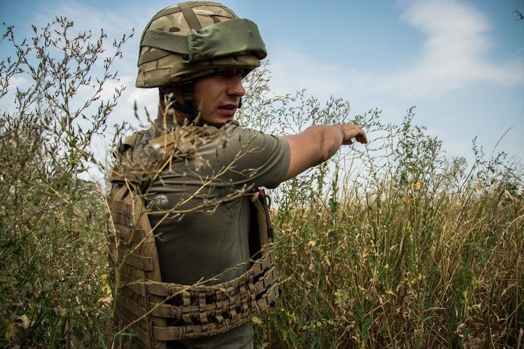 Окупанти обстріляли позиції морпіхів на лінії зіткнення