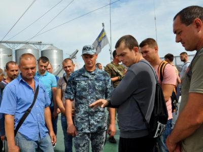 У Військово-Морських Силах перевіряють мобілізаційну готовність