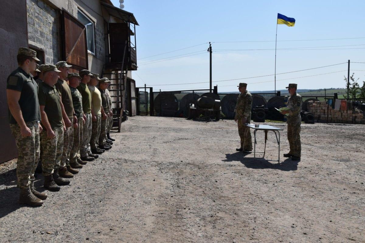 Понад тисяча військовослужбовців ООС були нагороджені напередодні 28-ї річниці Незалежності України