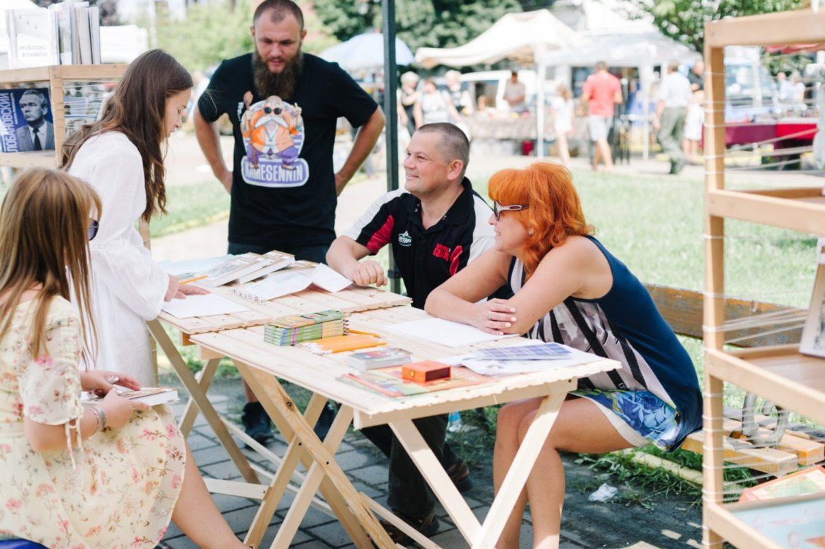Військові медики провели заняття з тактичної медицини на фестивалі «З країни в Україну»