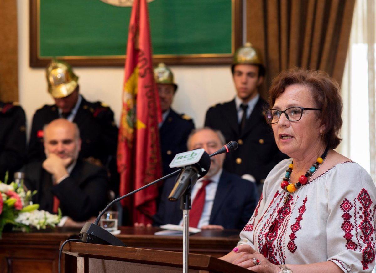Волонтерка Ніна Цибульська – перша українка, яка отримала медаль в Португалії
