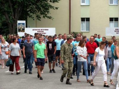 Десантники 80-ї для громадян Львівщини провели День відкритих дверей