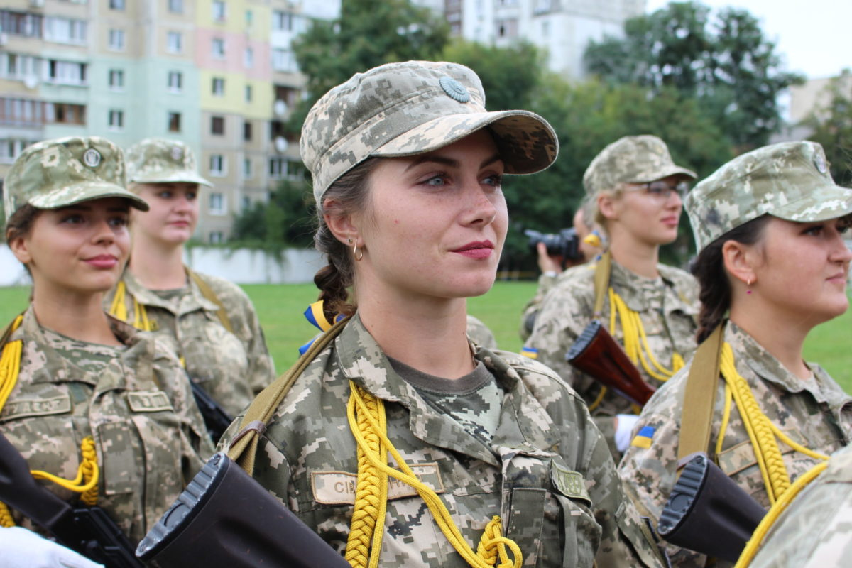 У Києві склали присягу майбутні офіцери запасу