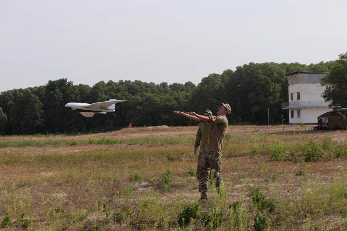 На Київщині безпілотники виявляли противника