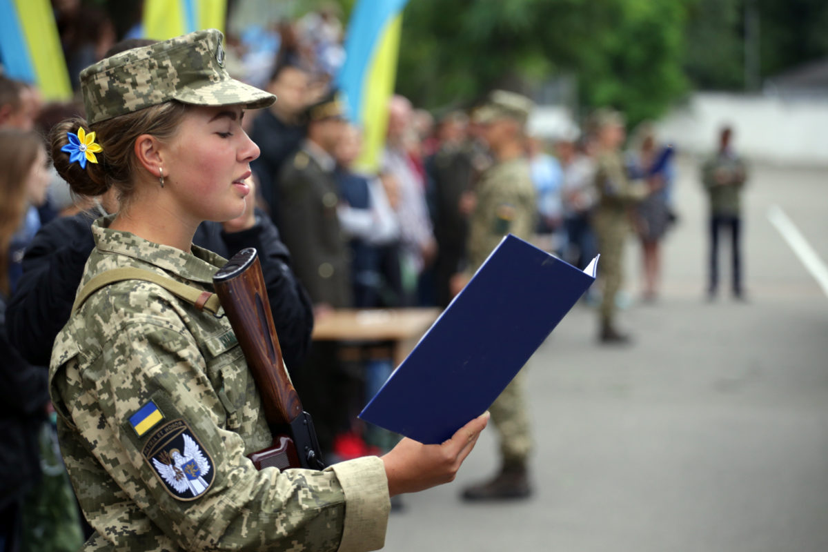 Військові зв'язківці присягнули на вірність Українському народові