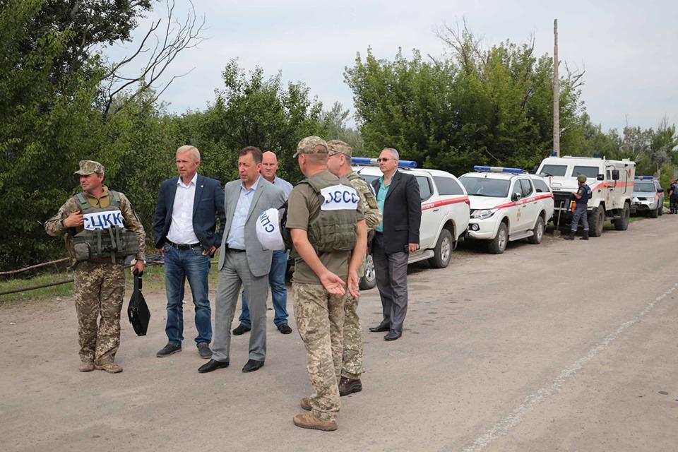 На Луганщині завершено перший етап розмінування