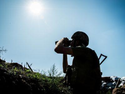 Доба в ООС: 5 обстрілів, одного українського захисника поранено