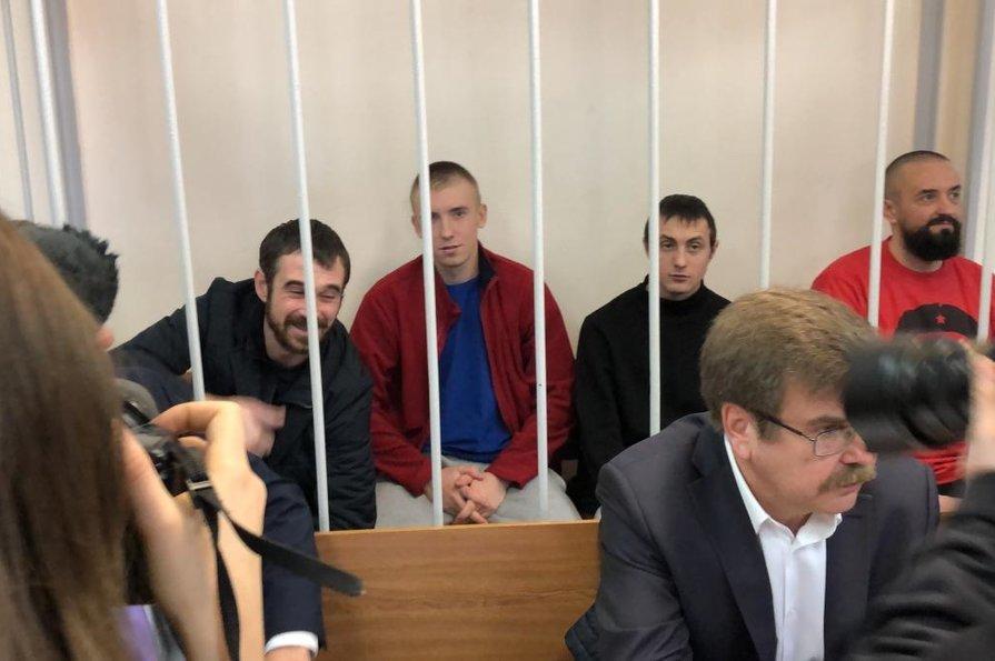 Апеляції шести військових моряків відхилено
