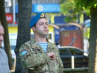 У Дніпрі вшанували загиблих під Шахтарськом десантників