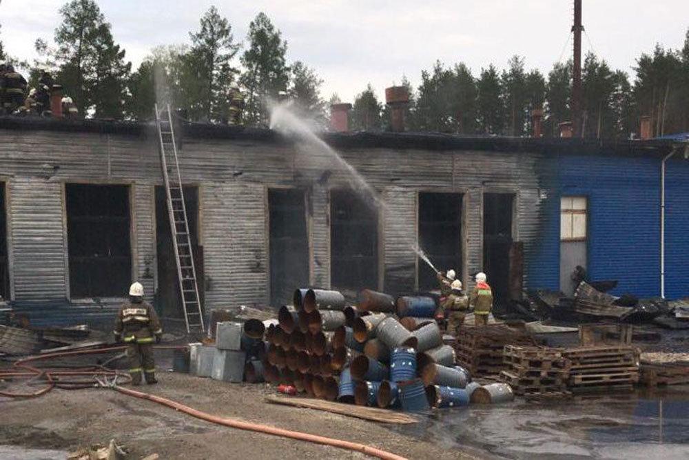 У Росії на підприємстві з переробки пороху виникла пожежа