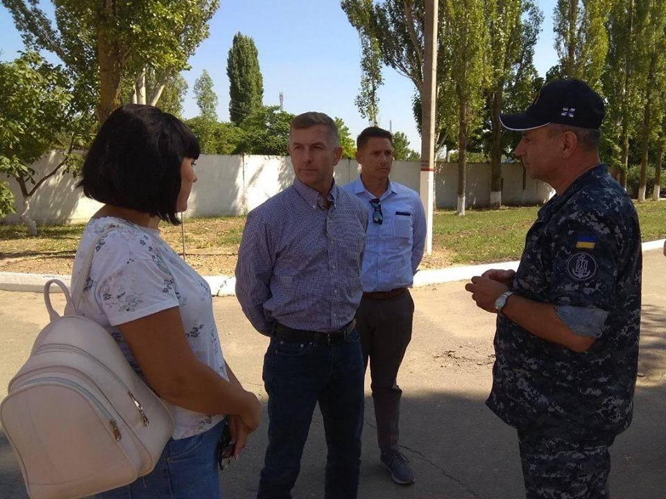 Відбудова інфраструктури Військово-Морських Сил ЗС України триває