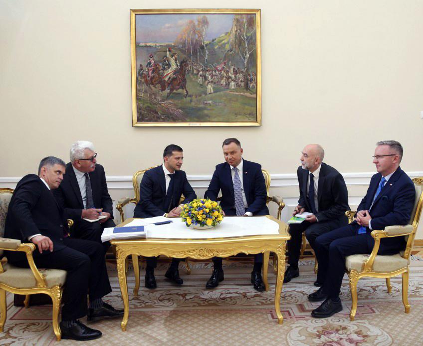 У Варшаві розпочалася зустріч президентів України та Польщі